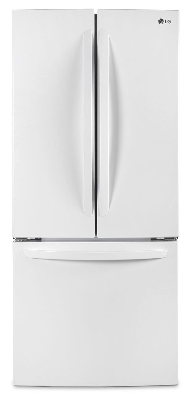 LG 22 Cu. Ft. French-Door Refrigerator – LFNS22520W