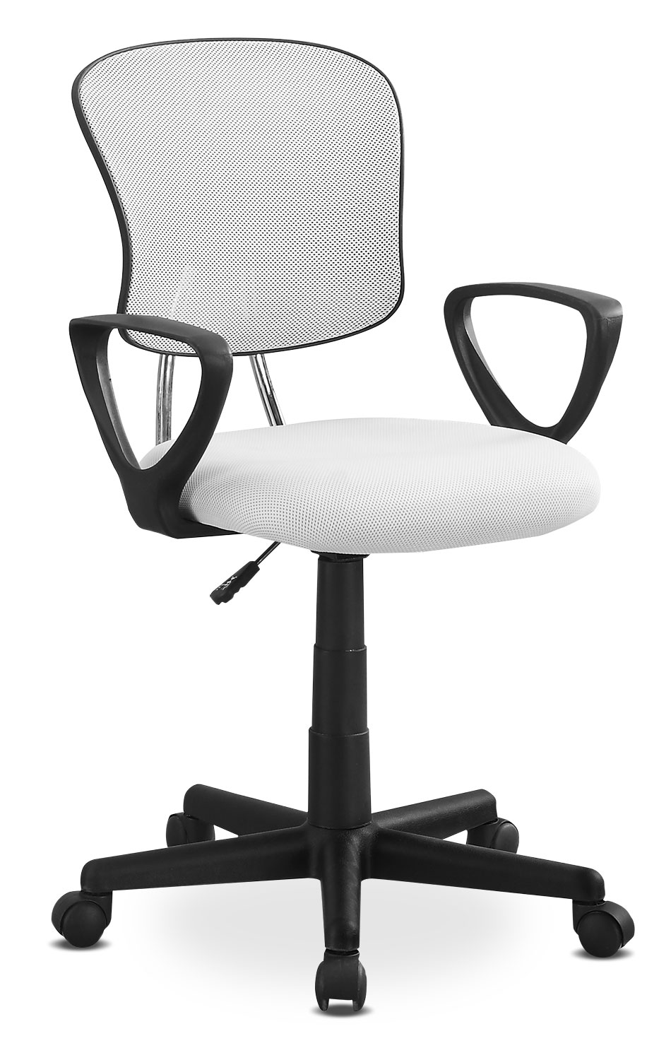 Home Office Furniture - Online Only - Polito Office Chair - White