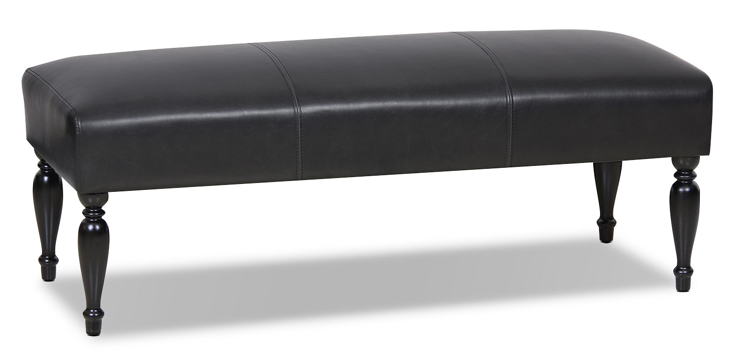Accent and Occasional Furniture - Halden Bench – Black