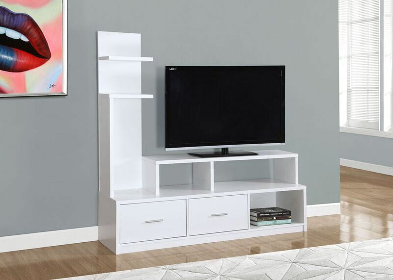 Entertainment Furniture - Online Only - Ari TV Stand - White