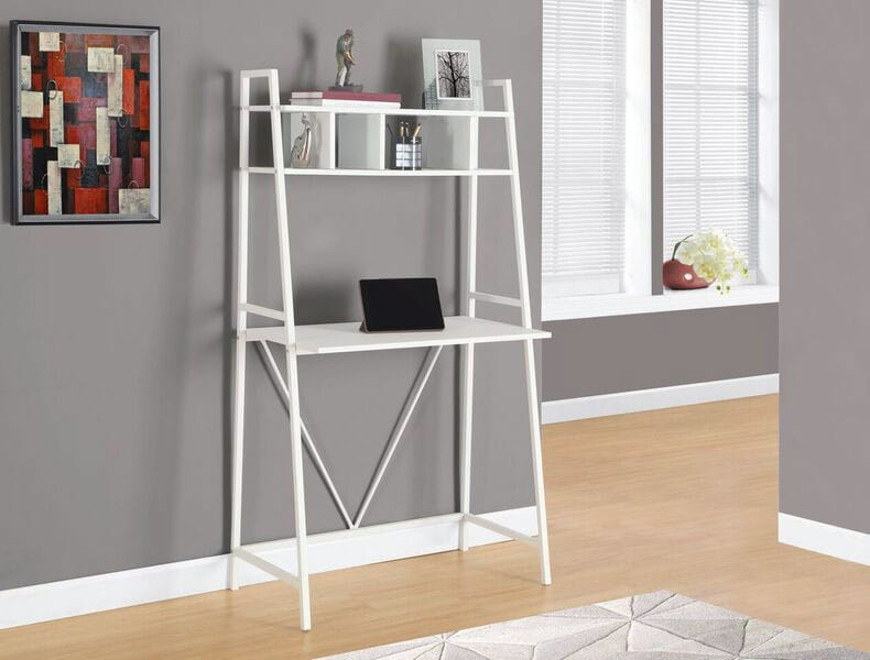 Home Office Furniture - Online Only - Sykes Computer Desk - White