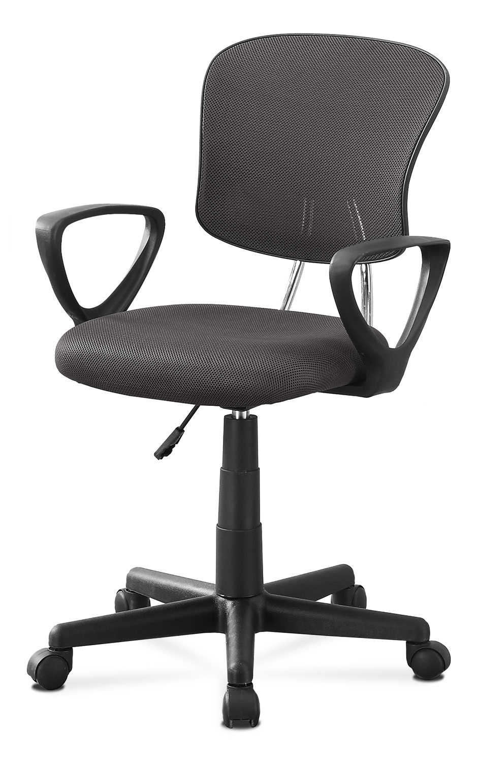 Home Office Furniture - Online Only - Polito Office Chair - Grey