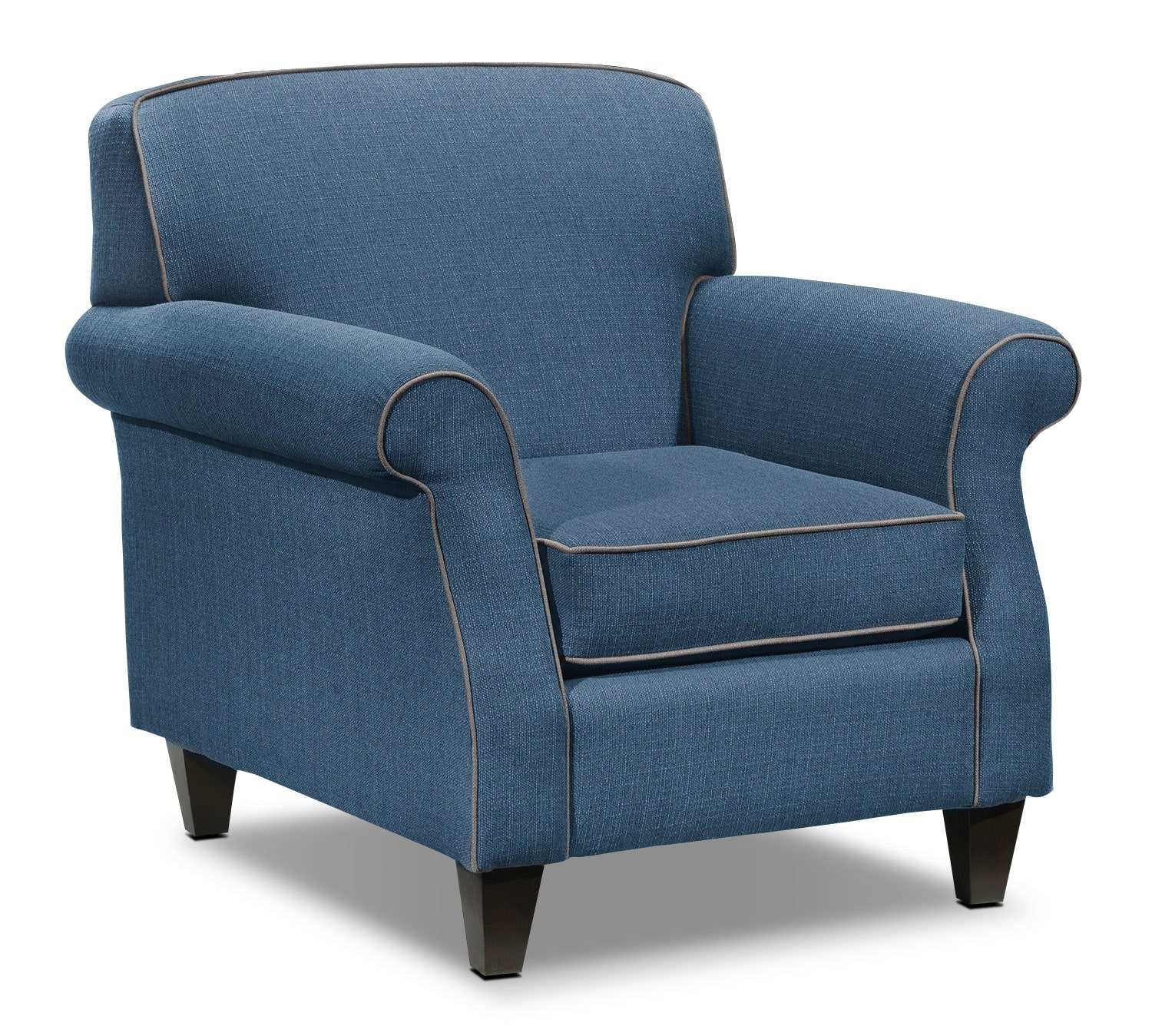 Living Room Furniture - Aristo Chair - Blue