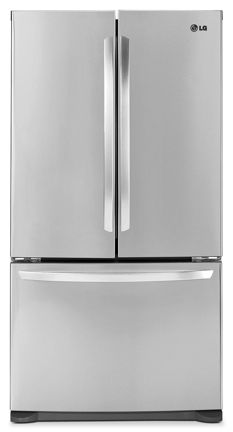 Refrigerators and Freezers - LG 20.9 Cu. Ft. French-Door Refrigerator - LFC21776ST