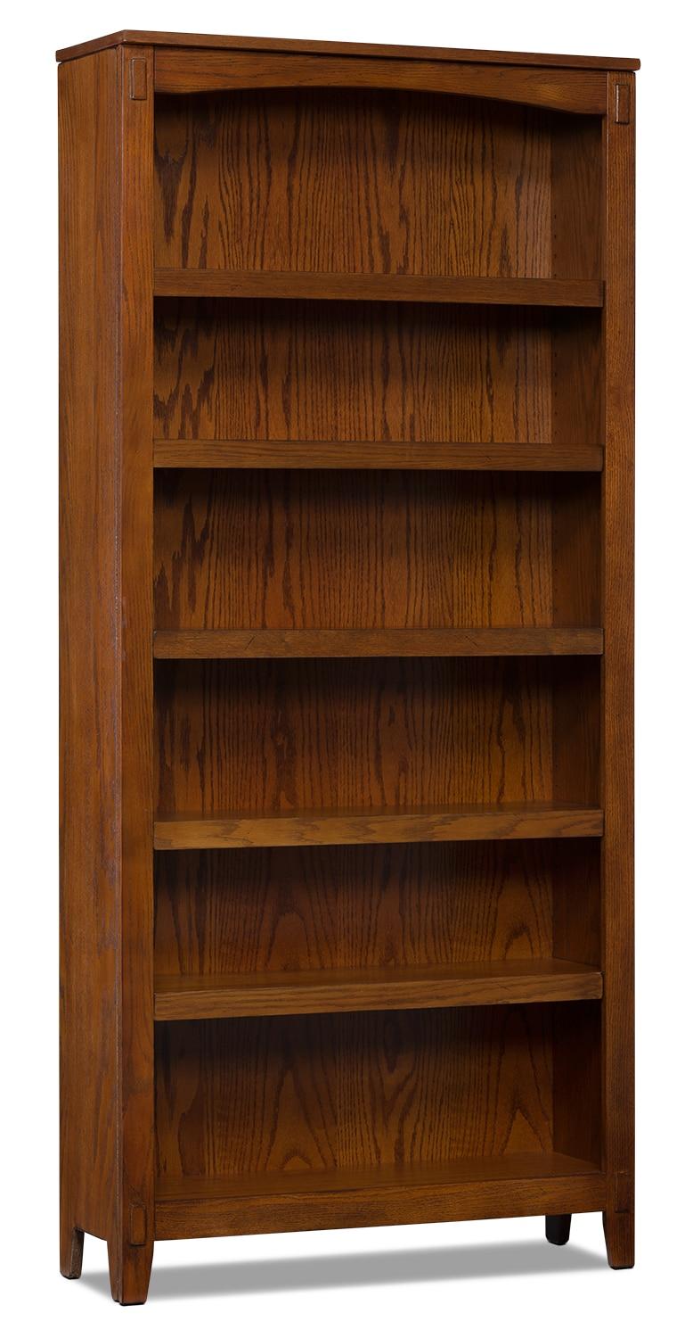 Cross Island 6-Shelf Bookcase