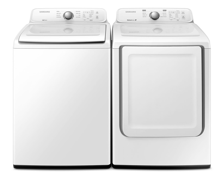 Samsung Laundry - WA40J3000AW/DV40J3000EW