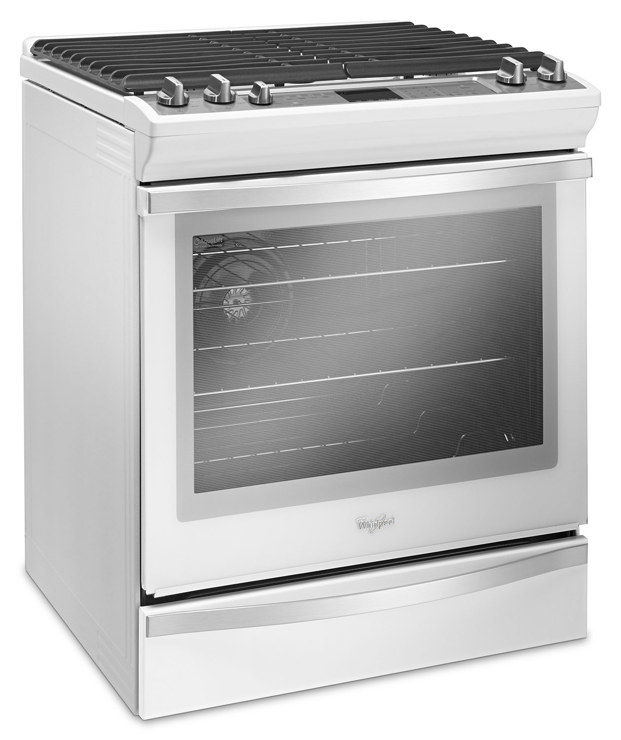Whirlpool White Slide-In Gas Range (5.8 Cu. Ft ...