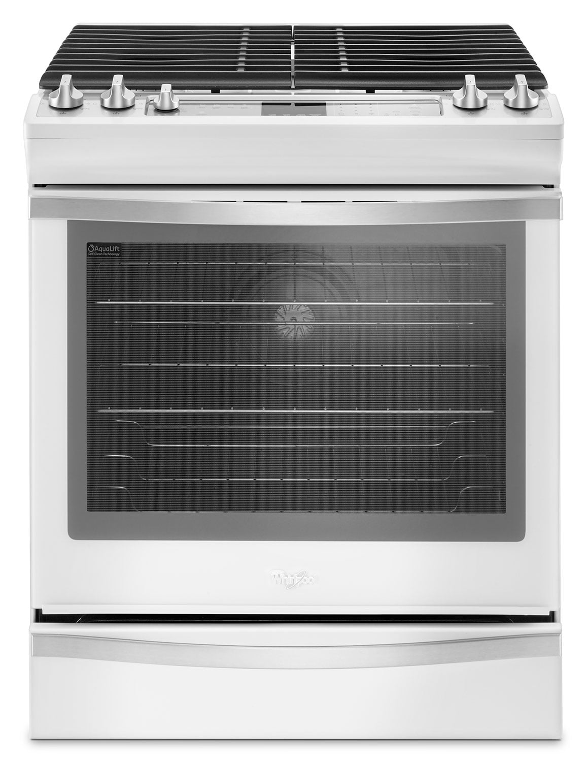 Cooking Products - Whirlpool 5.8 Cu. Ft. Slide-In Gas Range – WEG745H0FH