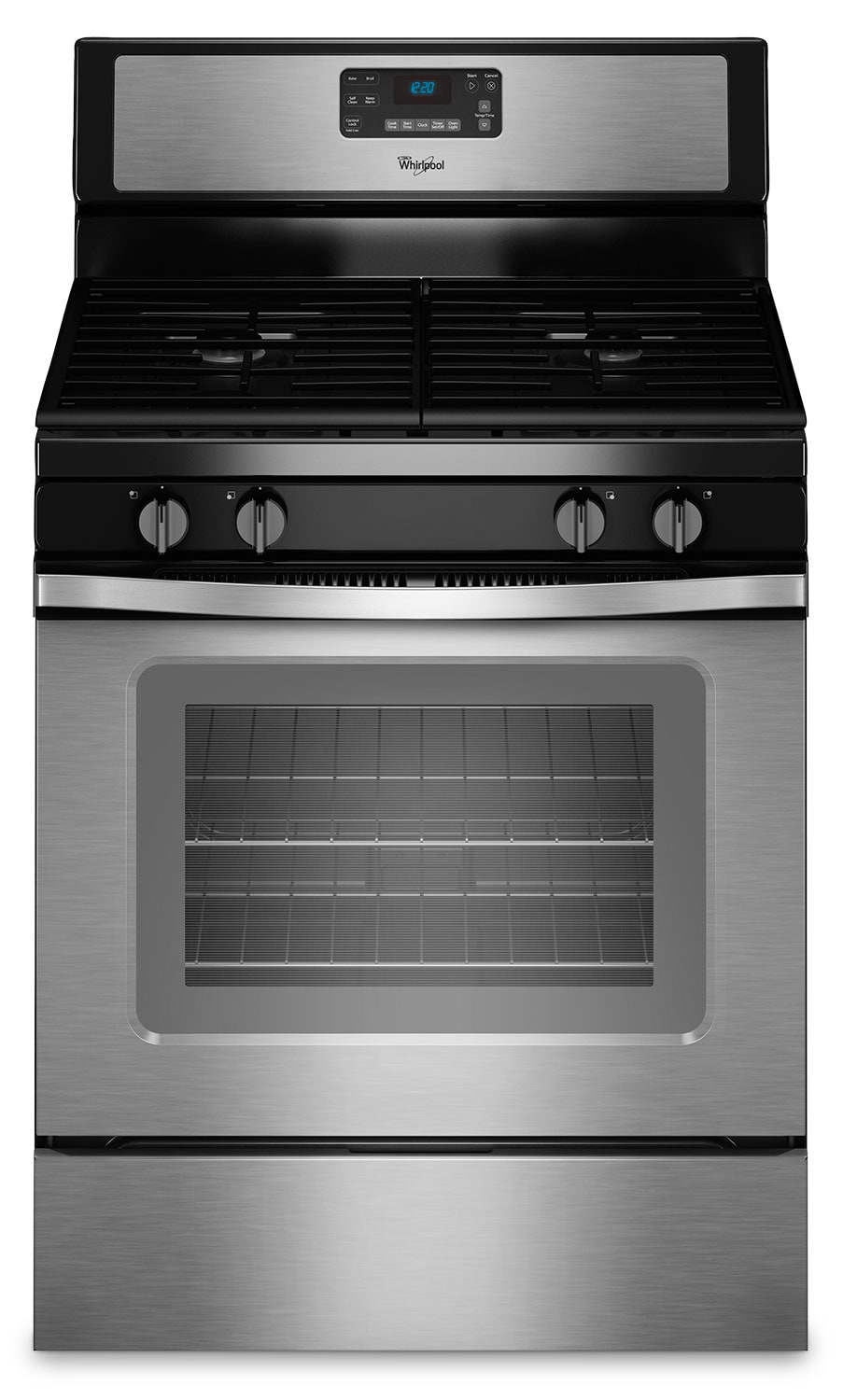 Cooking Products - Whirlpool 5.0 Cu. Ft. Freestanding Gas Range – WFG515S0ES