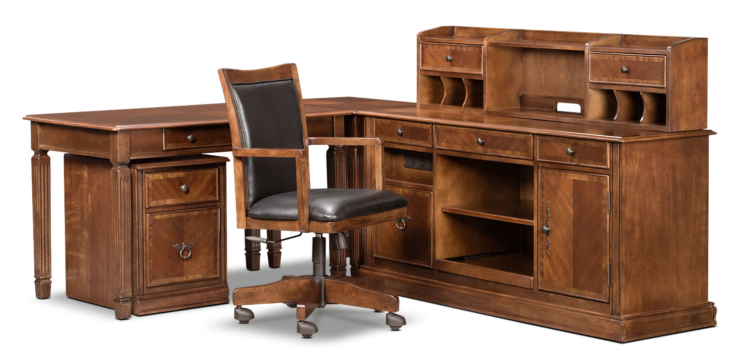 Hamlyn 6-Piece Desk Package