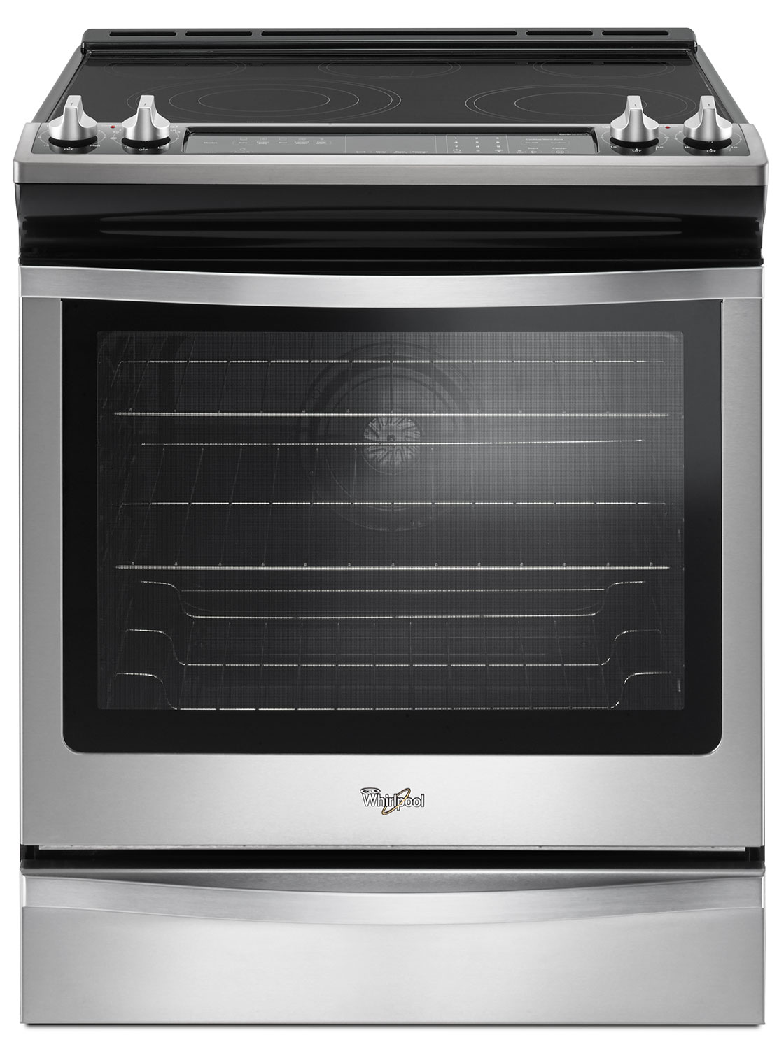 Cooking Products - Whirlpool 6.4 Cu. Ft. Slide-In Electric Range – YWEE745H0FS