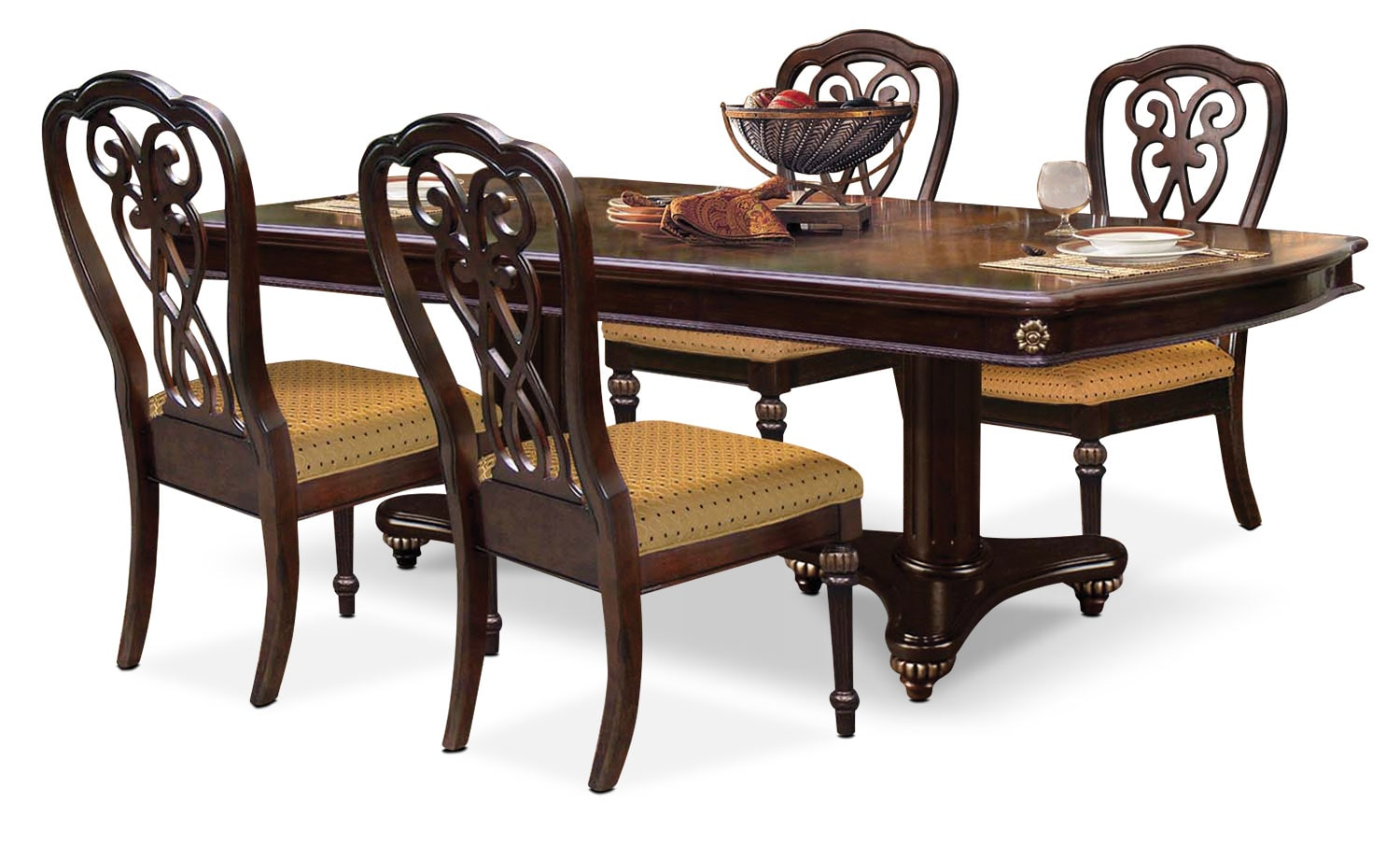 Dining Room Furniture - Newcastle 5-Piece Dining Package