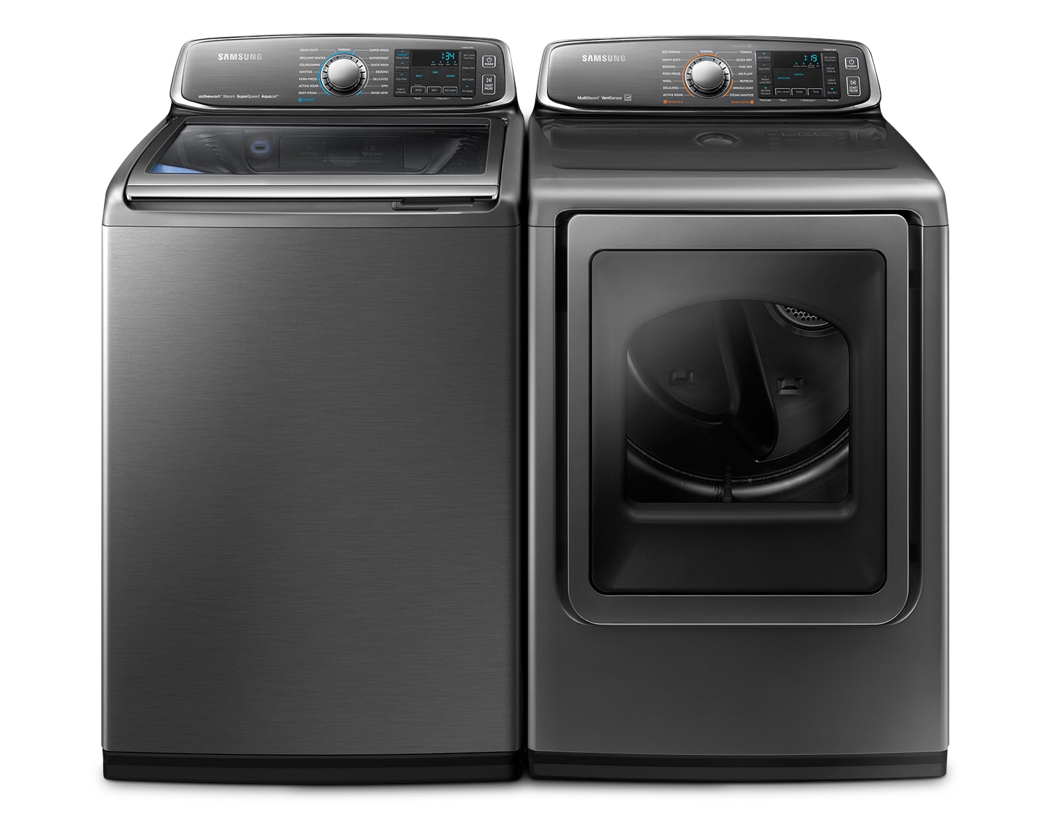 Samsung Platinum Washer/Dryer Collection - WA52J8700AP/DV52J8700EP