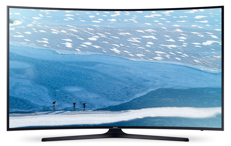 "Televisions - Samsung 65"" KU6490 Curved UHD LED Smart Television"