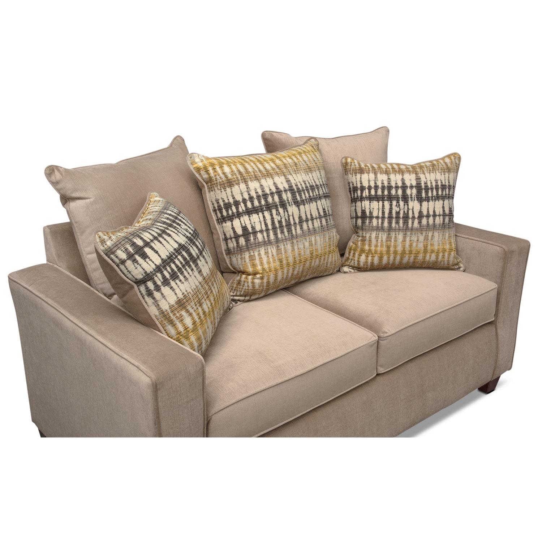 Bryden Queen Innerspring Sleeper Sofa Loveseat And Accent