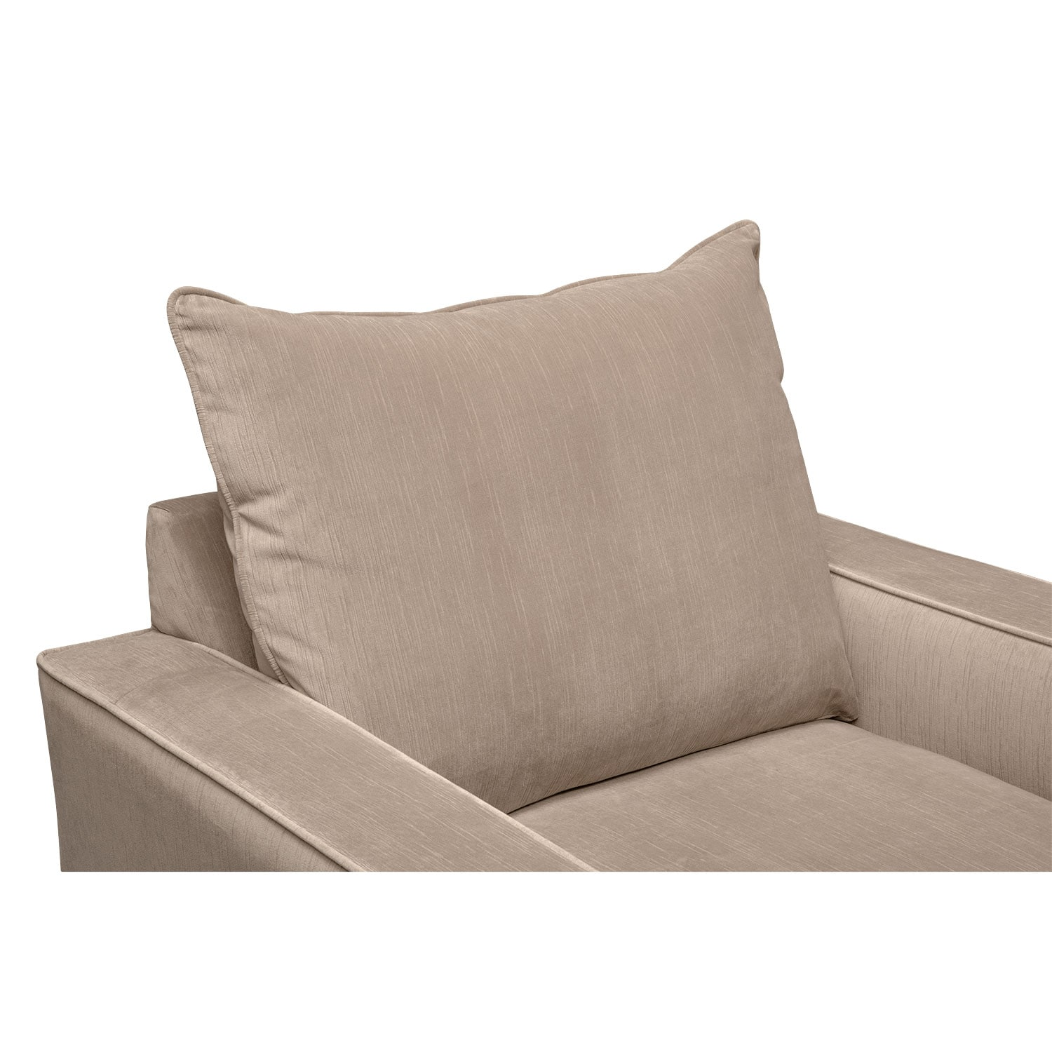 Bryden Queen Memory Foam Sleeper Sofa Loveseat And Chair Set Beige Value City Furniture