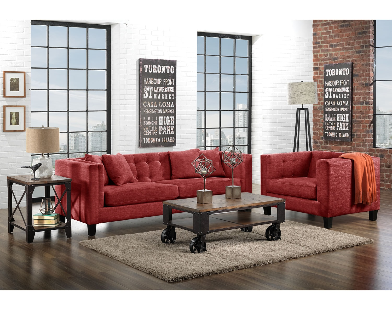 The Astin Collection - Red