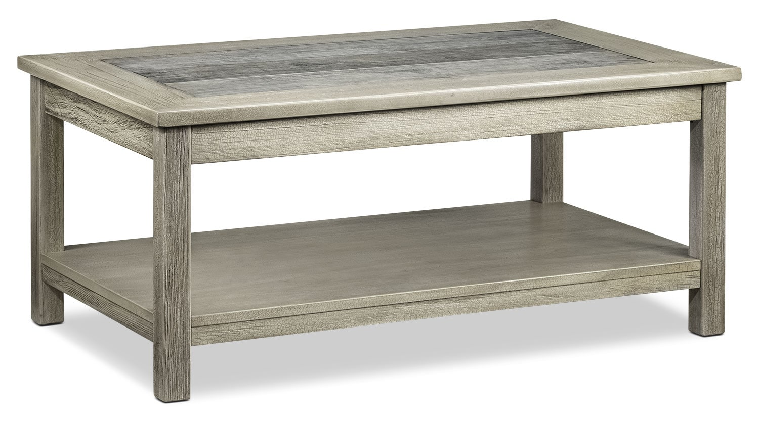 Accent and Occasional Furniture - Thomas Coffee Table - Natural Beige