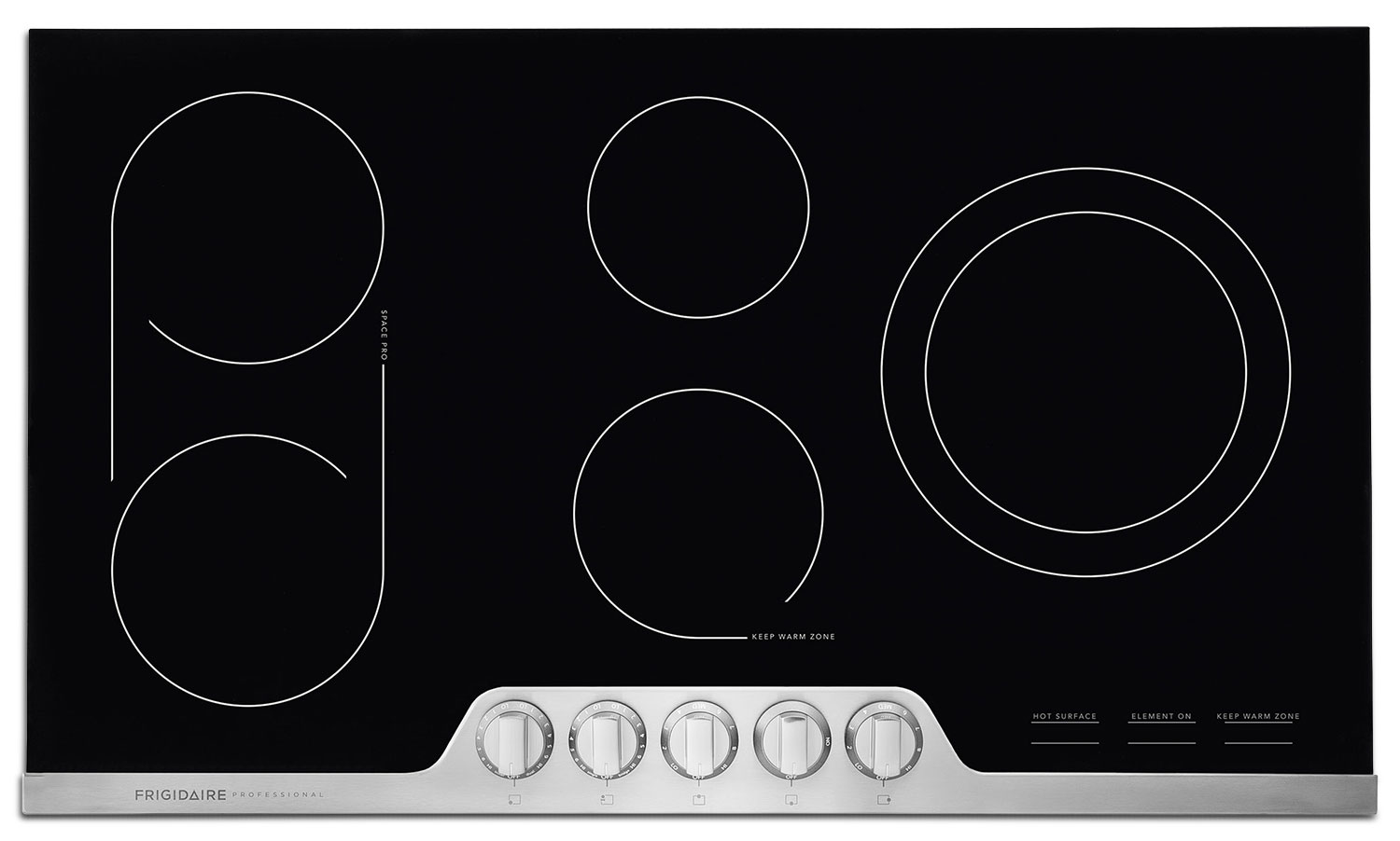 "Cooking Products - Frigidaire Professional 36"" Electric Cooktop – FPEC3677RF"