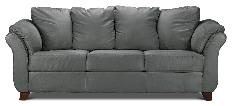 Collier sofa dark grey leon 39 s for Sofa bed leons