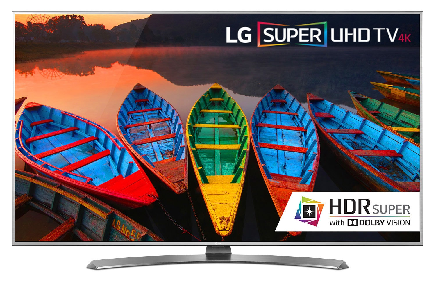 "Televisions - LG 55"" 4K Super UHD Smart LED TV - 55UH7700"