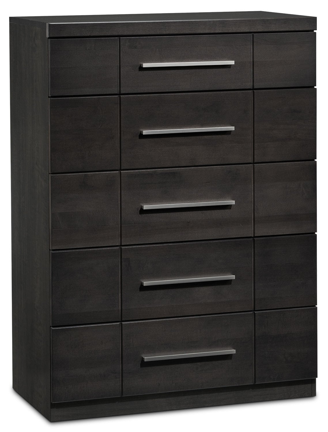 Bedroom Furniture - Seville 6-Drawer Chest - Charcoal