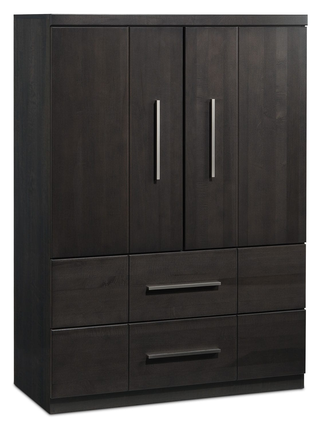 Seville Armoire - Charcoal