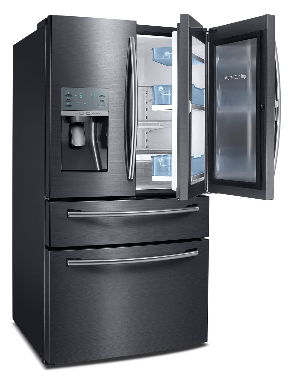 Samsung 27 8 Cu Ft French Door Refrigerator Black