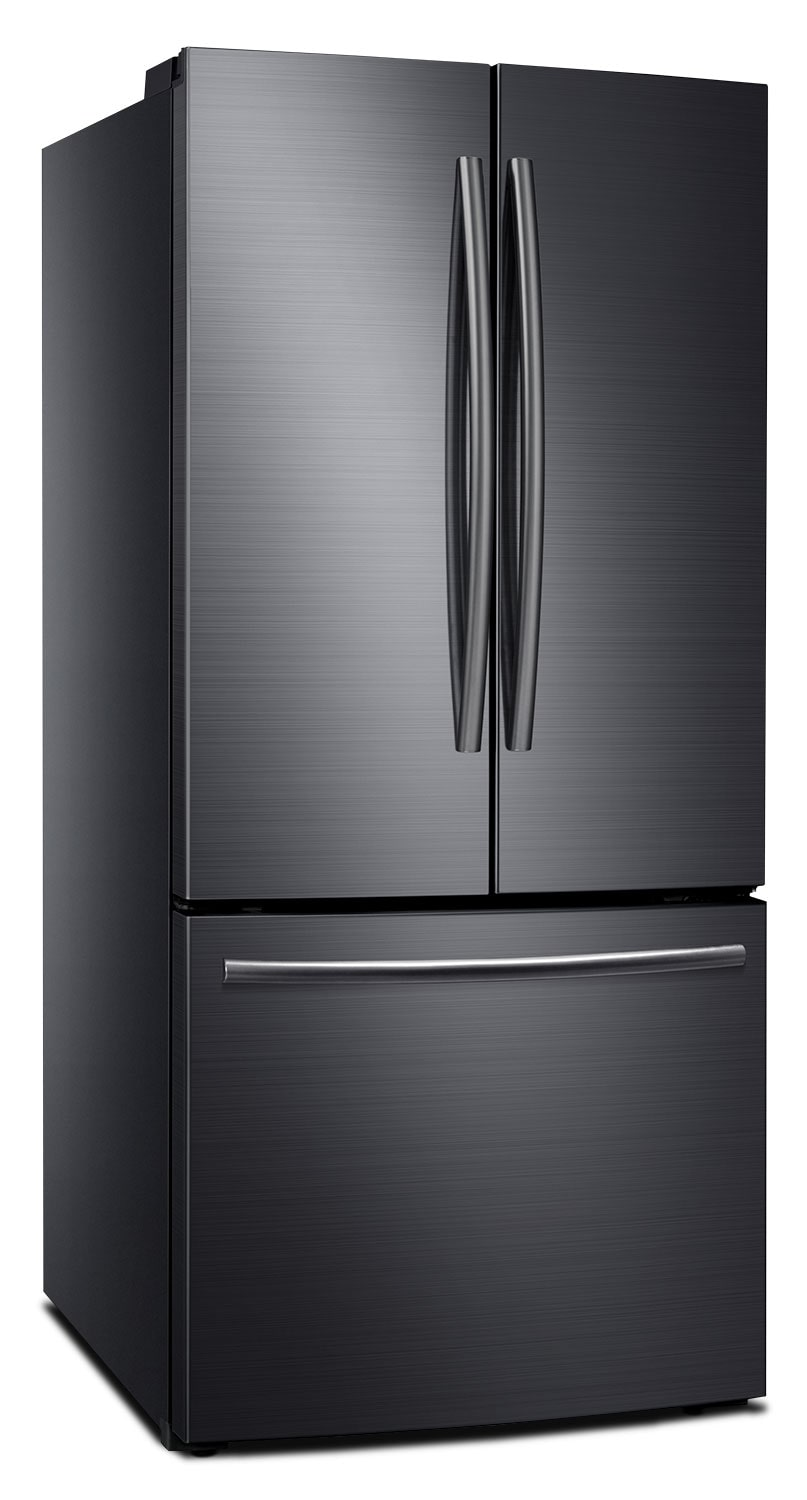 Samsung 22 Cu Ft French Door Refrigerator Black