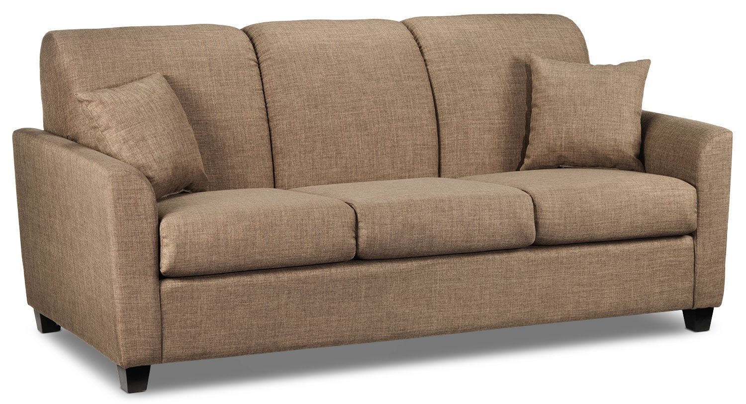 Living Room Furniture - Roxanne Sofa - Hazelnut