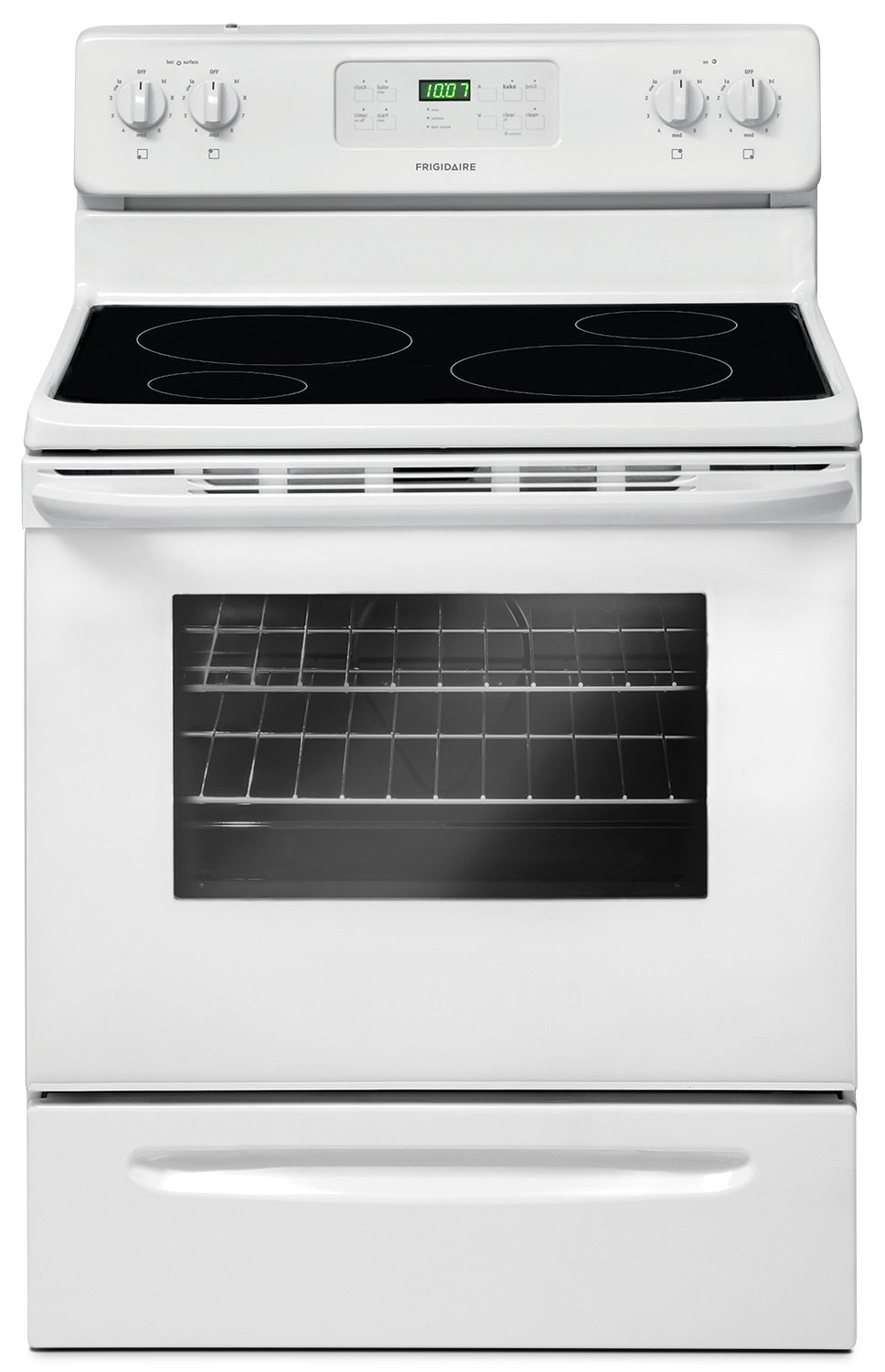 Cooking Products - Frigidaire 5.3 Cu. Ft. Freestanding Electric Range – CFEF3014TW