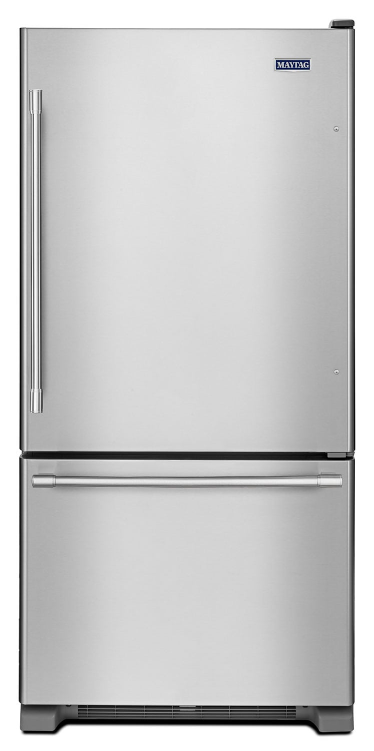 Maytag 22 Cu. Ft. Bottom-Mount Refrigerator – MBF2258FEZ
