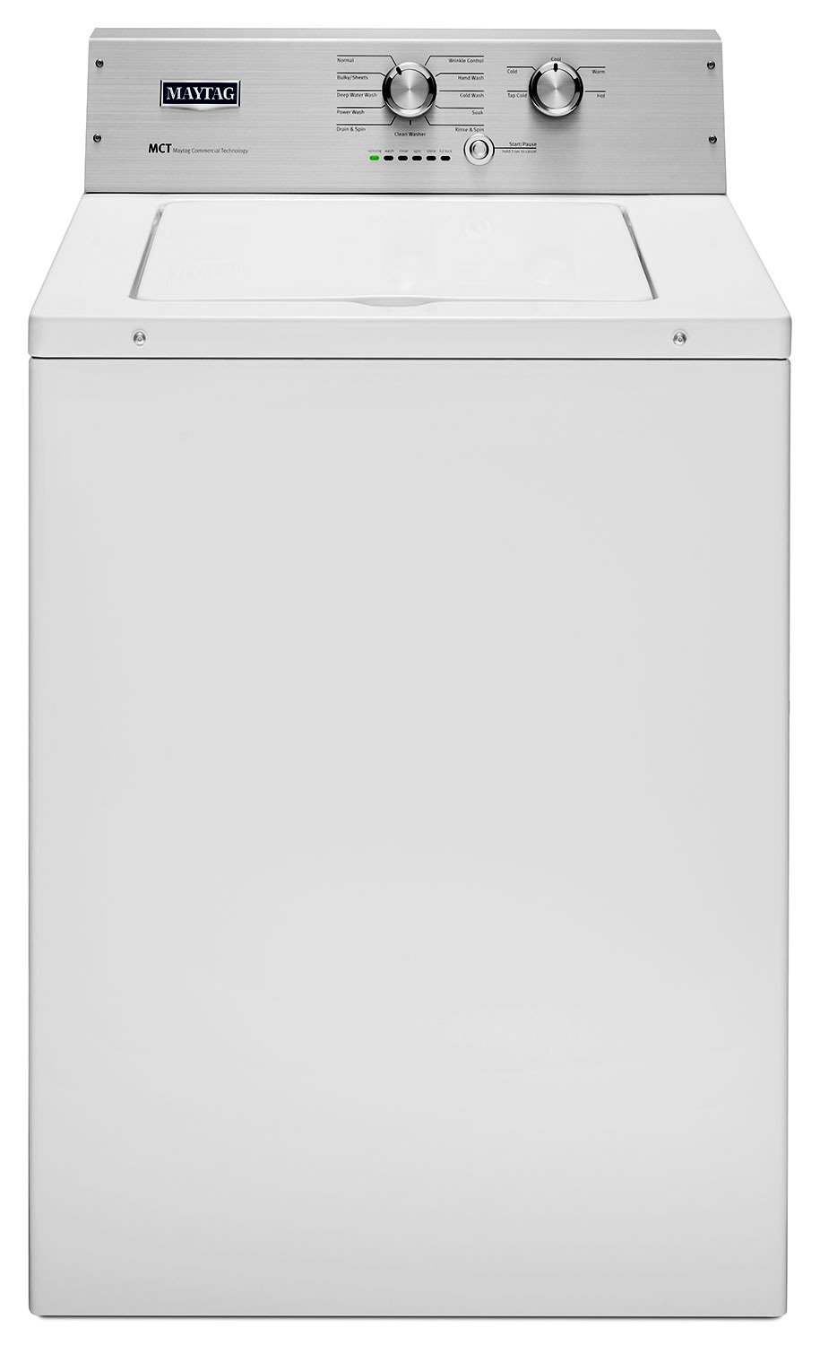 Washers and Dryers - Maytag White Top-Load Washer (4.2 Cu. Ft.) - MVWP475EW