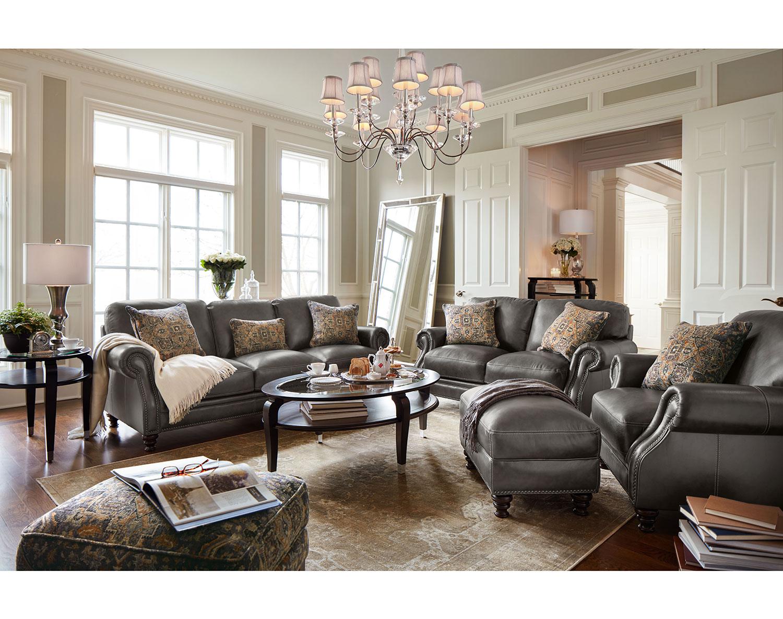 Leather Living Room Furniture Value City Furniture