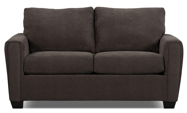 Sofa condo de la collection Spa en chenille - anthracite