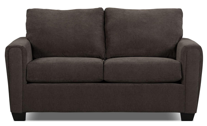 Mobilier de salle de séjour - Sofa condo de la collection Spa en chenille - anthracite