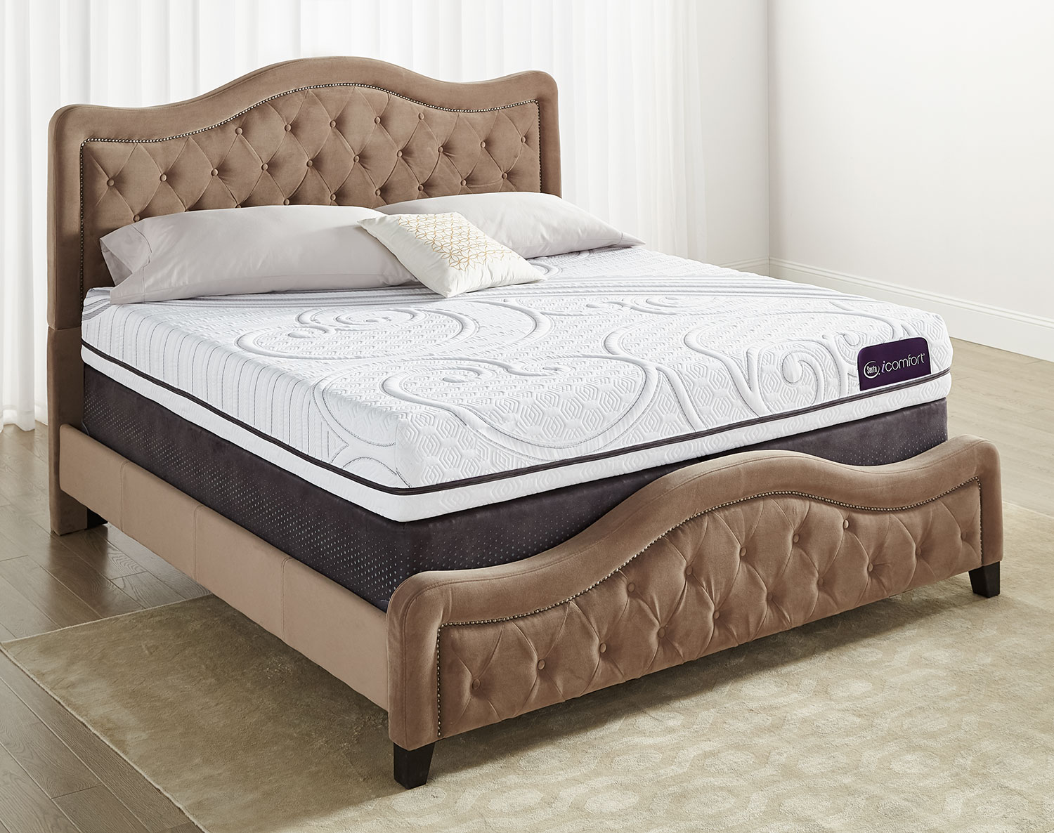 Serta iComfort Aura 2 Firm King Mattress Set