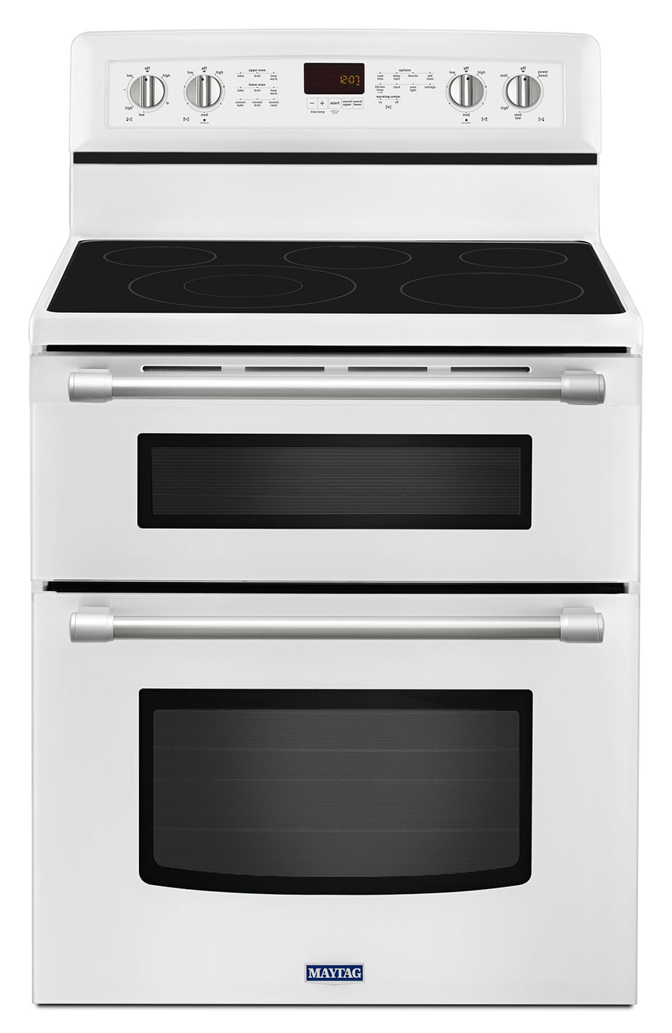 Cooking Products - Maytag 6.7 Cu. Ft. Double Oven Electric Range – YMET8720DH