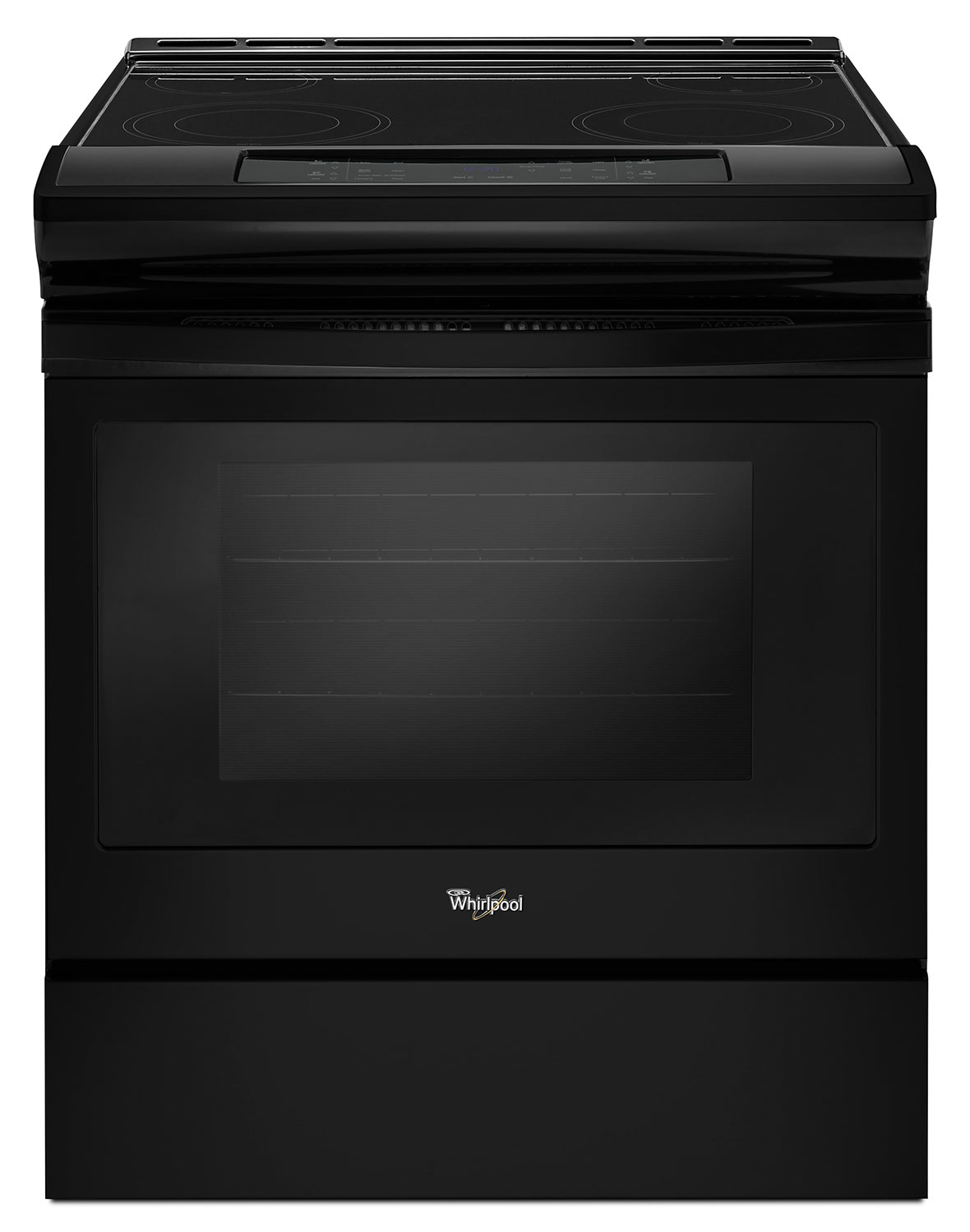 Cooking Products - Whirlpool Black Slide-In Electric Range (4.8 Cu. Ft.) - YWEE510S0FB