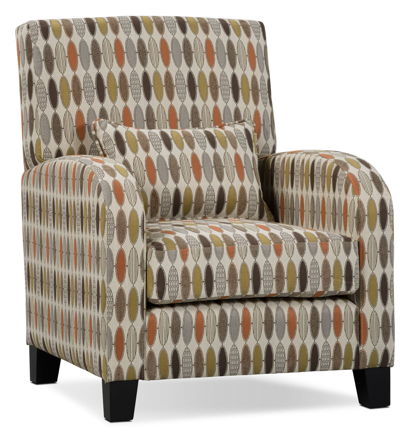 Viva Fabric Living Room Accent Chair