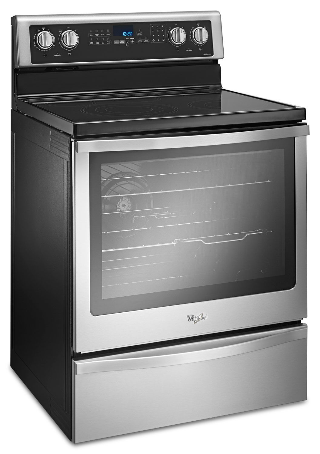 Whirlpool 6 4 cu ft freestanding electric range for 0 kitchen appliances