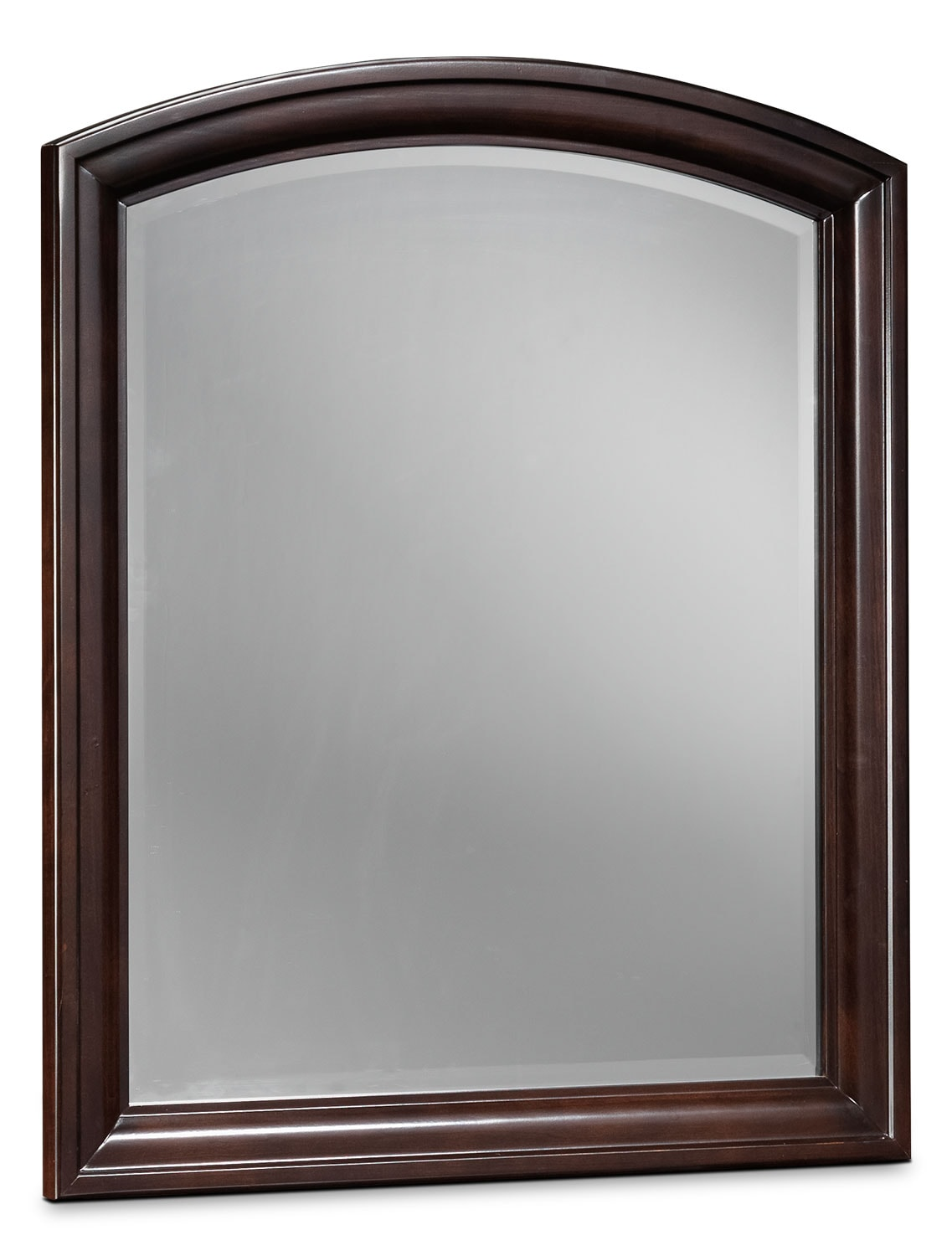 Kids Furniture - New Justin Mirror - Deep Cherry