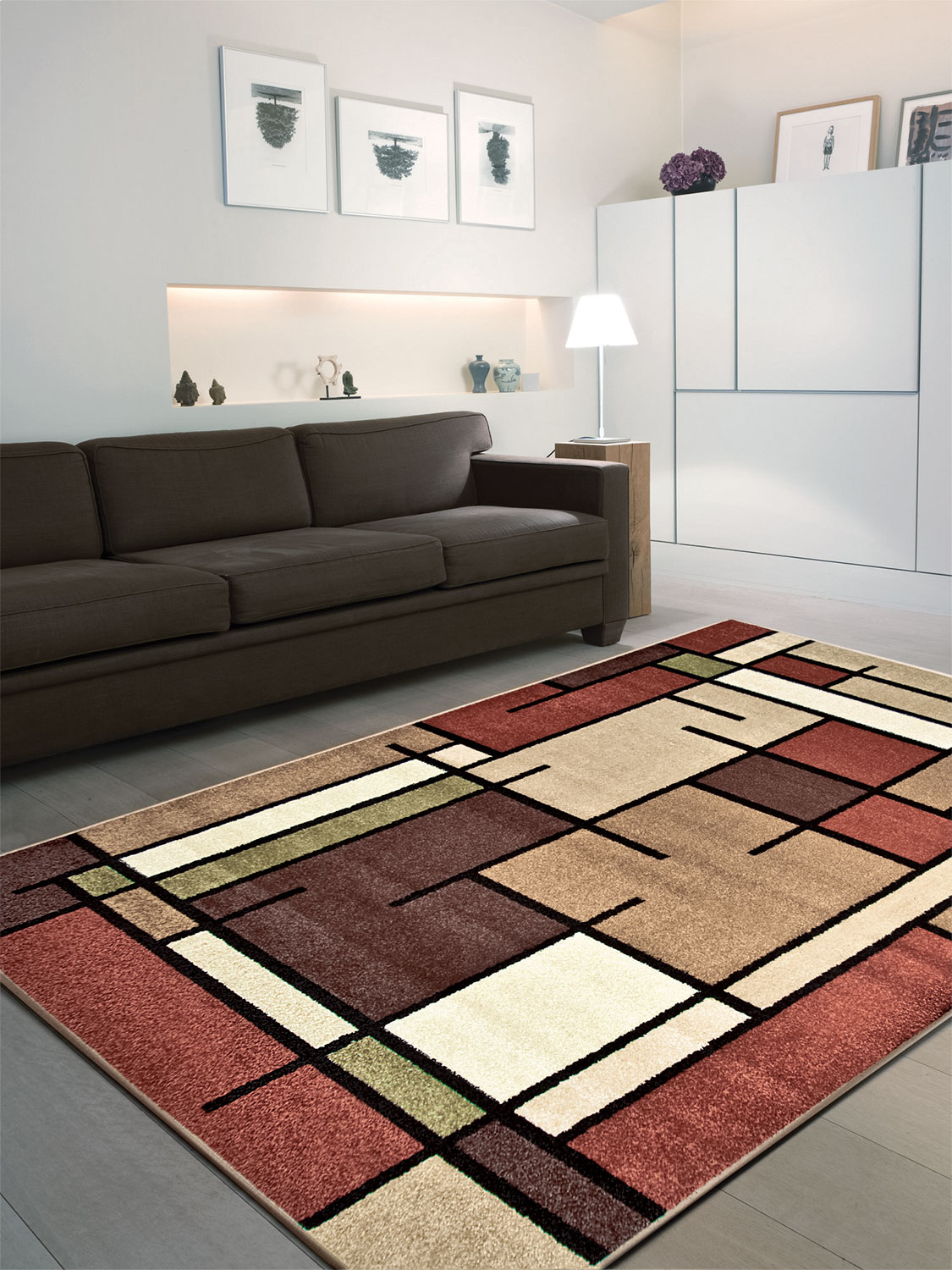 Thornton area rug 5 39 x 8 39 the brick for International home decor rugs