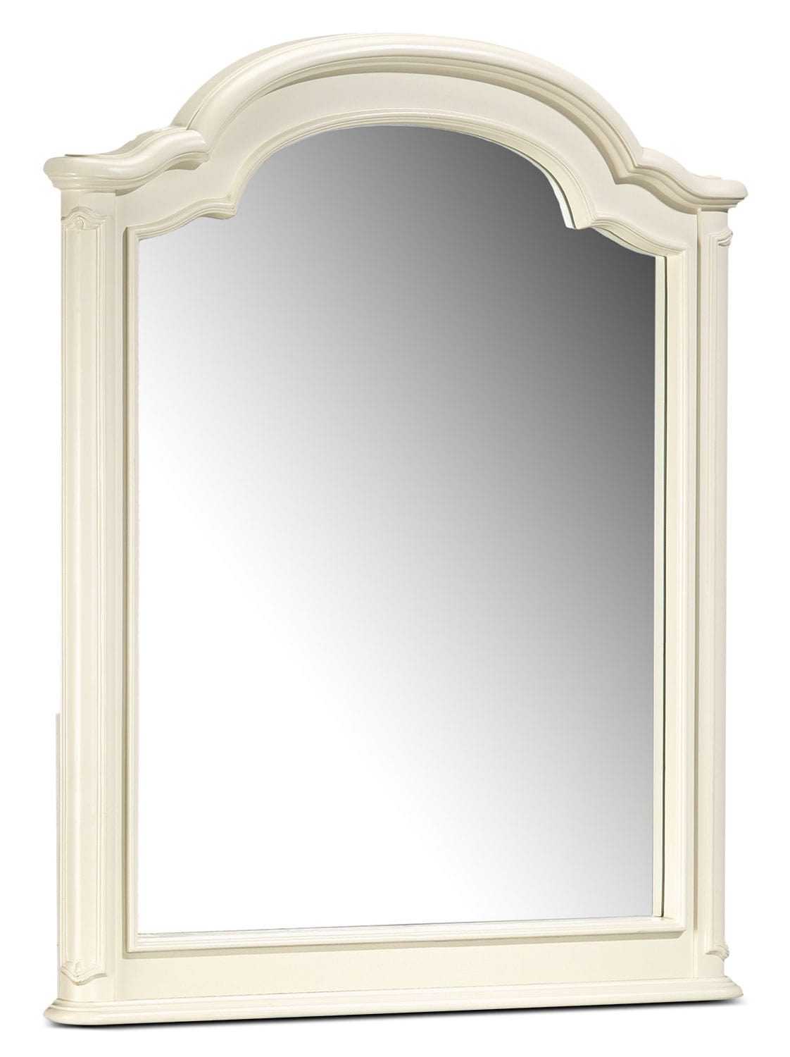 Amber Mirror - Antique White