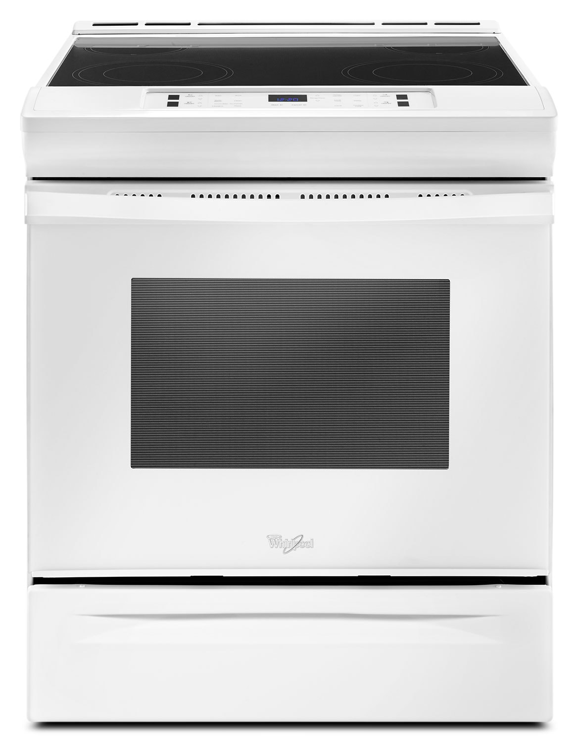 Cooking Products - Whirlpool White Slide-In Electric Range (4.8 Cu. Ft.) - YWEE510S0FW