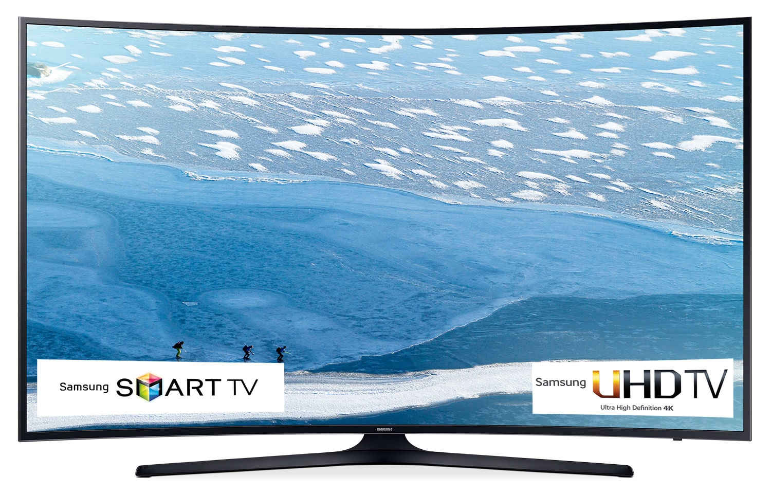 "Samsung 55"" 4K UHD Curved Smart LED TV - UN55KU6490FXZC"