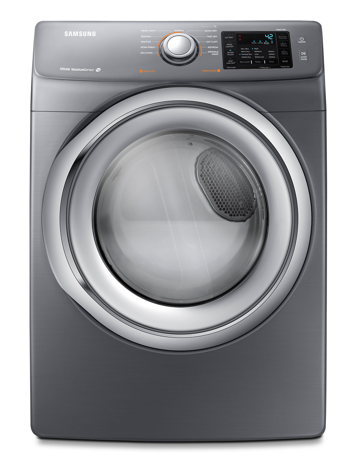 Samsung 4 8 Cu Ft Front Load Washer And 7 5 Cu Ft