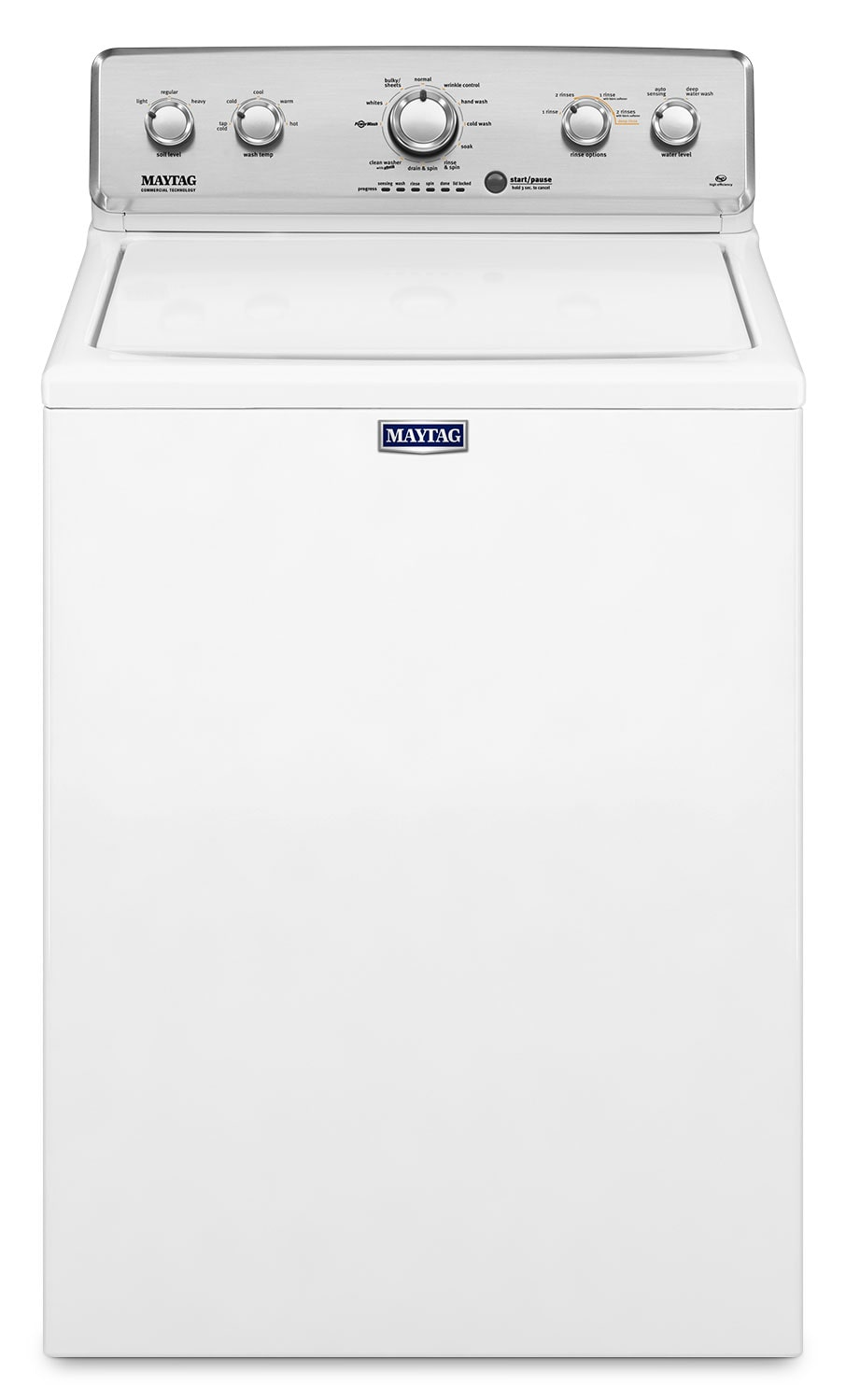 Maytag 4.9 Cu. Ft. Top-Load Washer – MVWC565FW