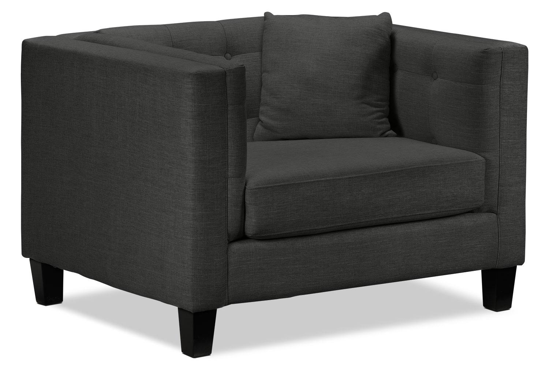 Astin Chair and a Half - Dark Grey | Leon's