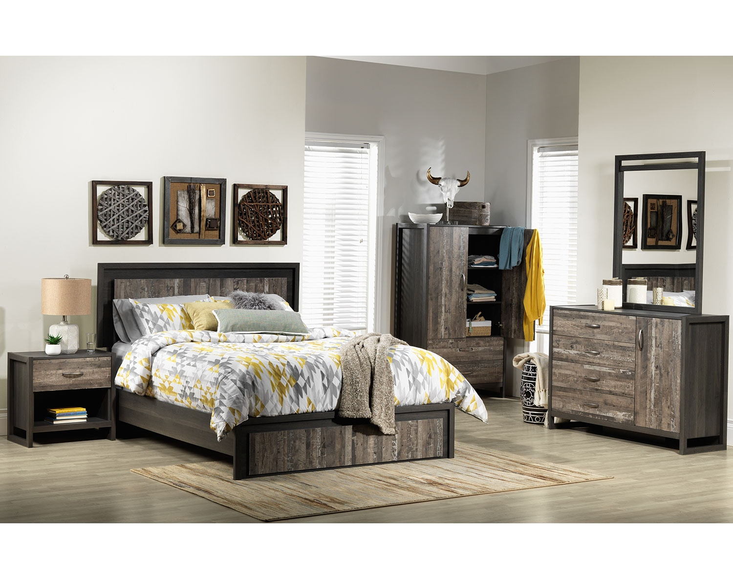 The Hudson Collection - Rustic Brown